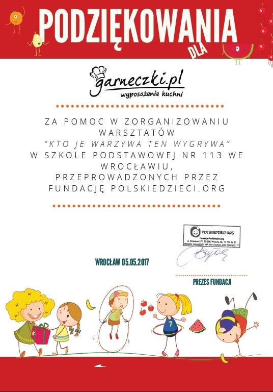 Gracias a Garneczki.pl