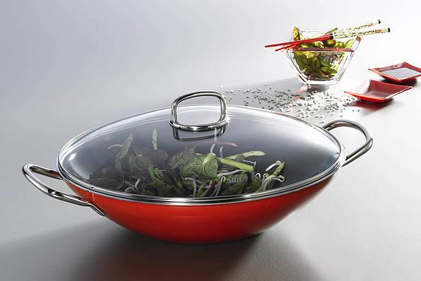 Sartén wok con revestimiento cerámico