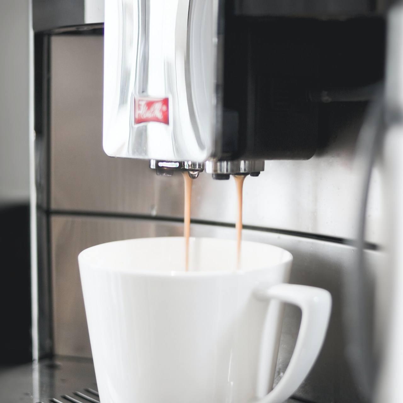Cafetera o máquina de café espresso