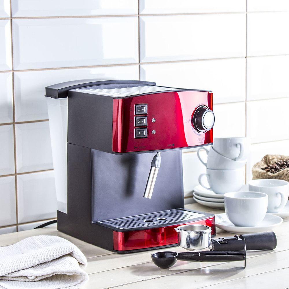 Cafetera semiautomática Adler