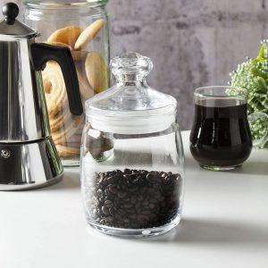 Tarro de cristal para café
