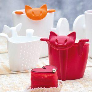 Preparas un Koziol de plástico para el té