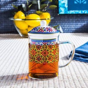 Infusor de tazas de té Duo Agadir