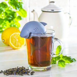 Infusor de té de tiburón