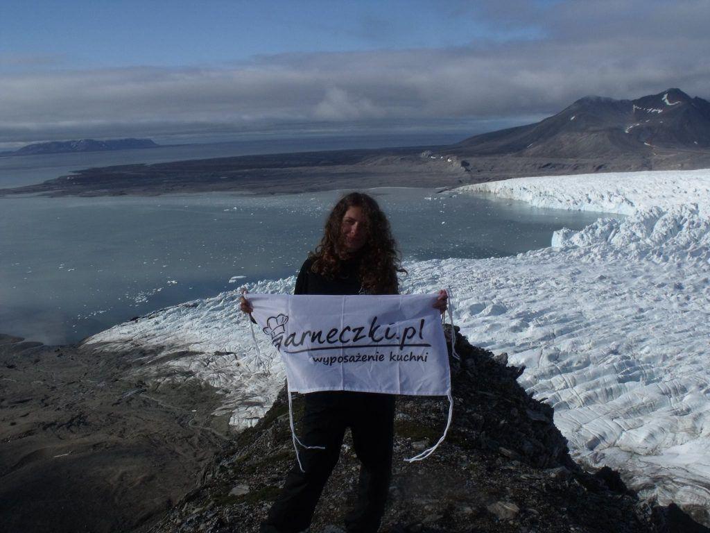 Bandera de las ollas en Spitsbergen