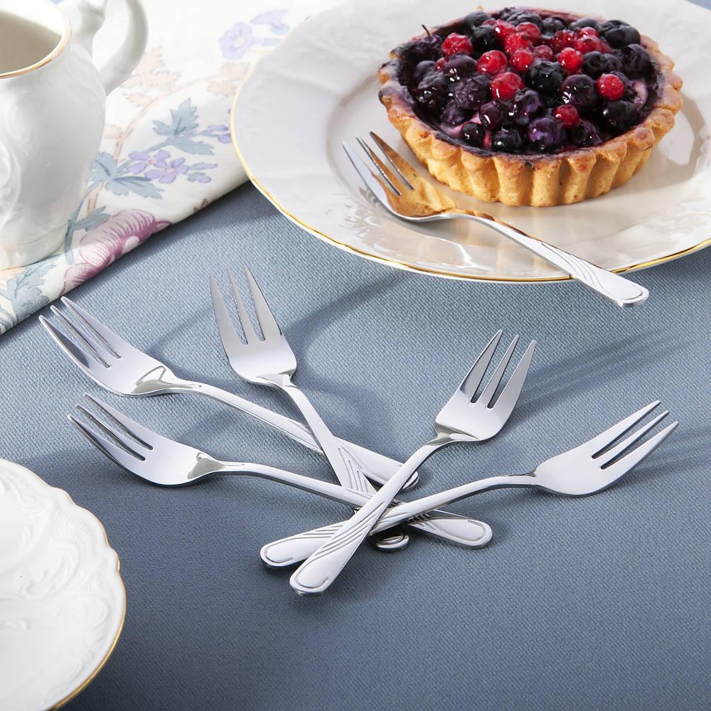 Tenedores de pastel de postre