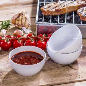 Un juego de cuencos para salsas Chodziez