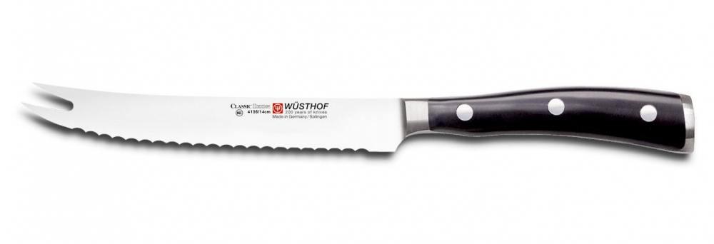Cuchillo para tomates Wusthof Classic Ikon