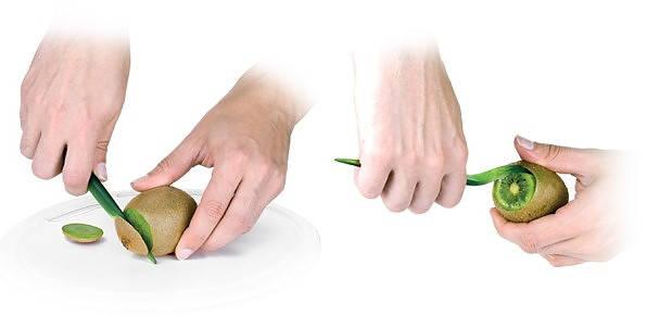 Peladora de kiwis tescoma