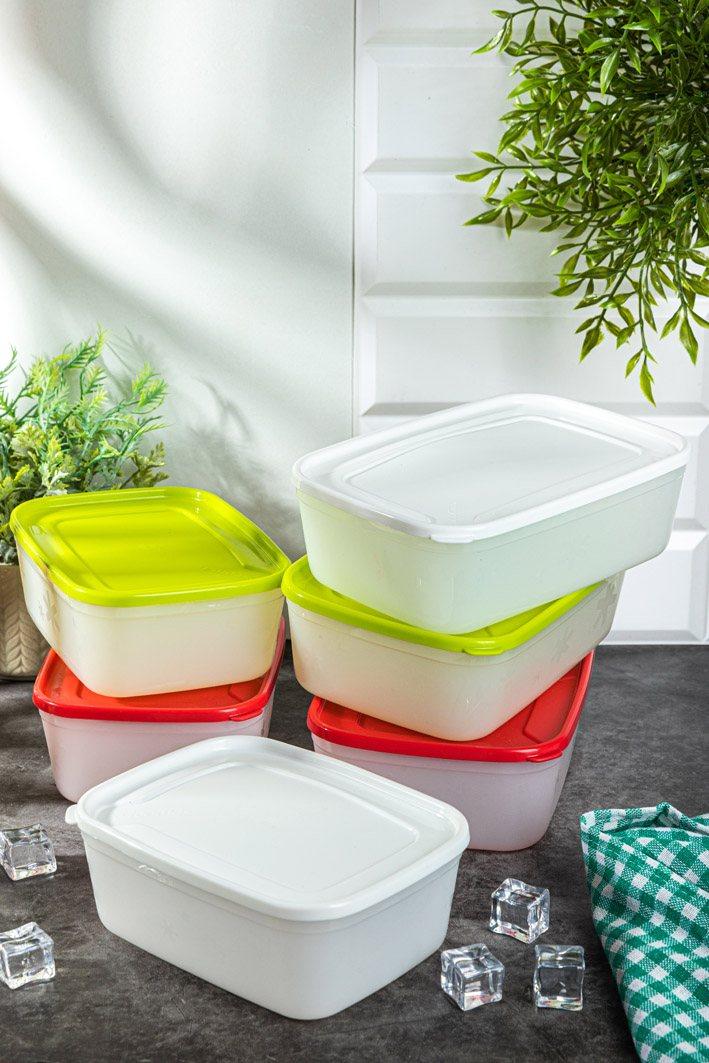 recipientes de plástico para alimentos
