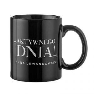Taza de cerámica con la inscripción HBPA Anna Lewandowska