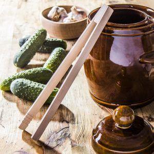 Pinzas de cocina de madera