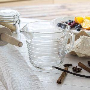 Vaso medidor de vidrio Alornol