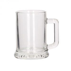 Jarra de cerveza de cristal estrella