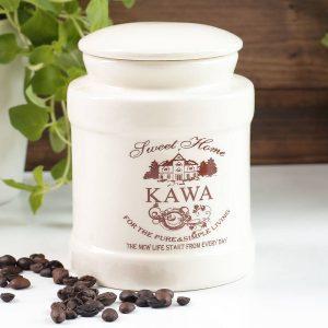 Recipiente de cerámica para café Sweet Home