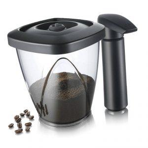 Recipiente de café al vacío con bomba Tomorrows Kitchen