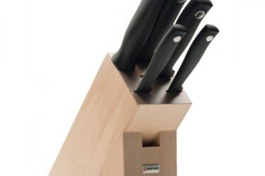 Cuchillos en el bloque de Wusthof Silverpoint