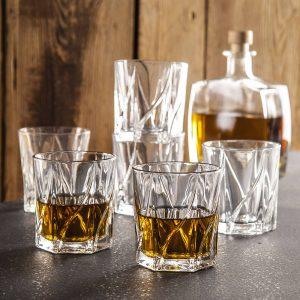 Vasos de whisky Jack