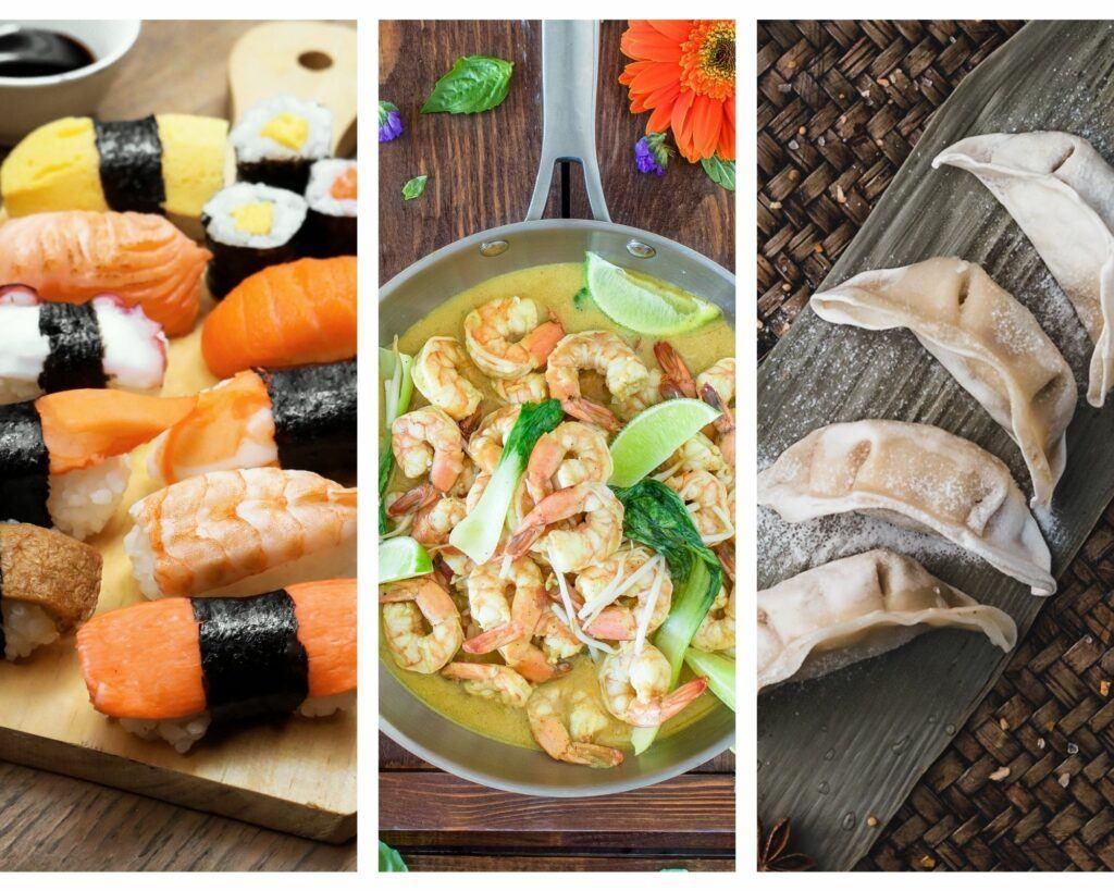 Cocina asiática: conocemos los platos más populares