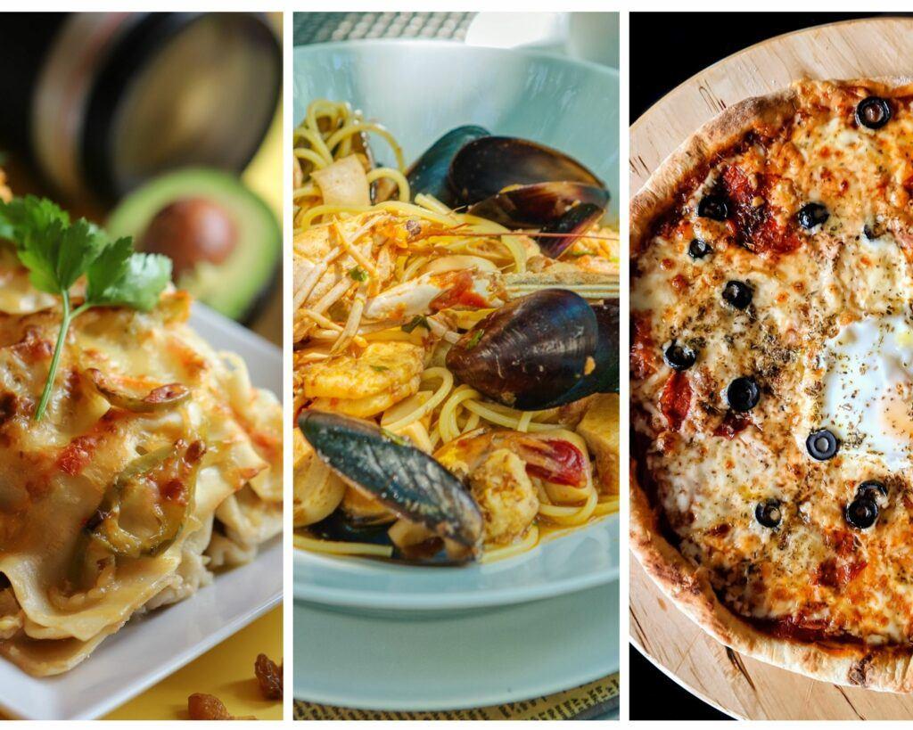 Cocina italiana, no solo pizza y pasta