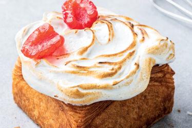 Cubo Croissant Flambeado