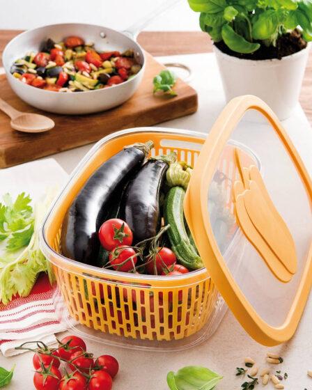 Recipiente para verduras y frutas
