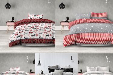 Ropa de cama para Navidad