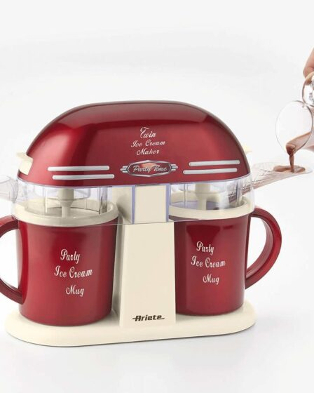 Máquina de helado Ariete Twin