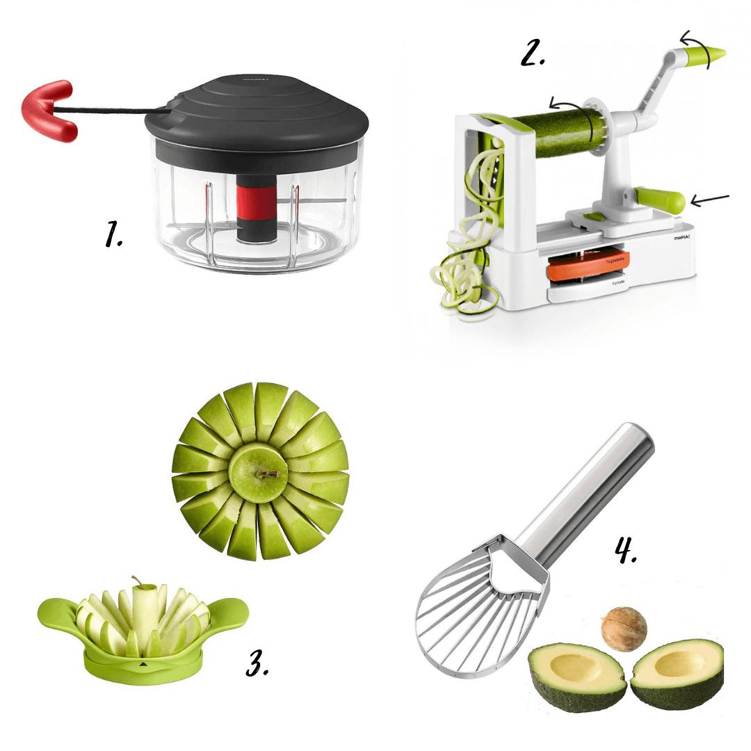 Cortadoras de frutas y verduras Moha