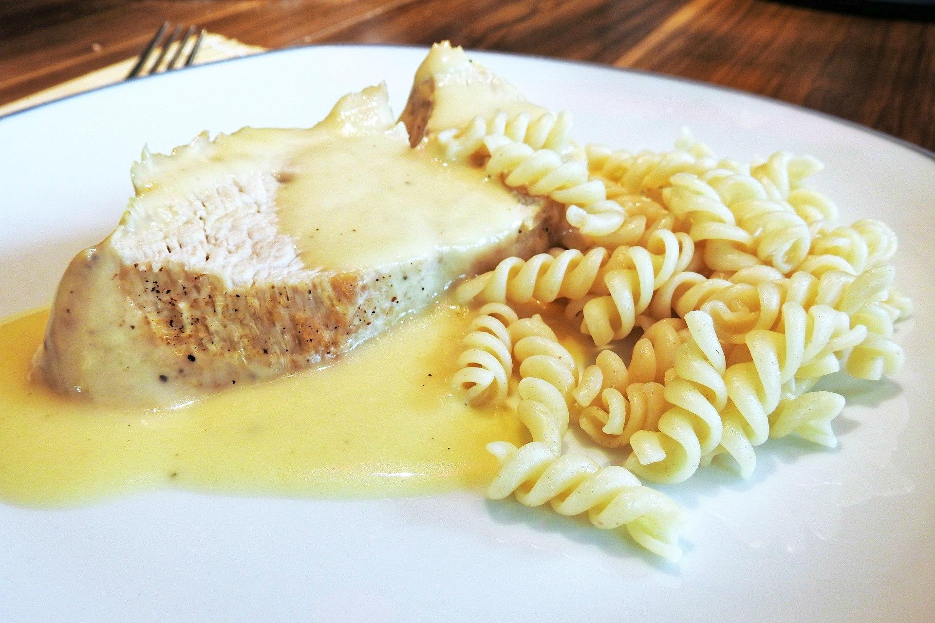 Salsa de arroz blanco y pasta - receta
