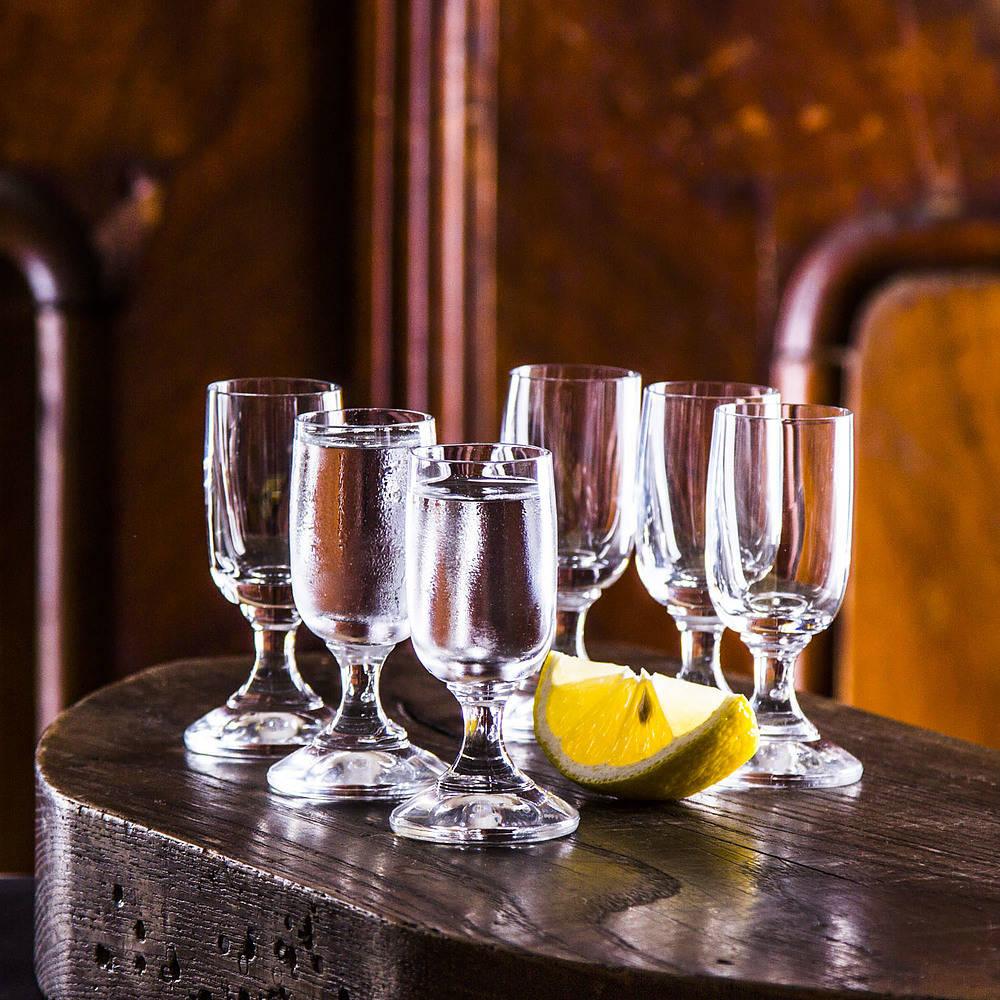 Vasos de vodka Florina