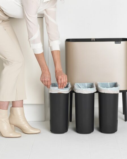 contenedor de segregación de residuos