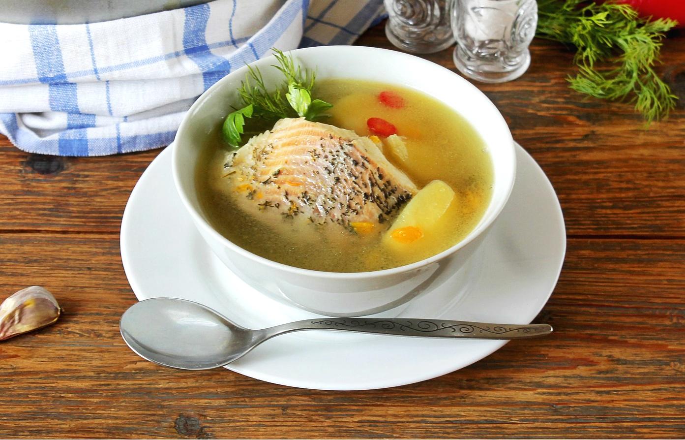 Sopa de pescado con carpa de Nochebuena - receta
