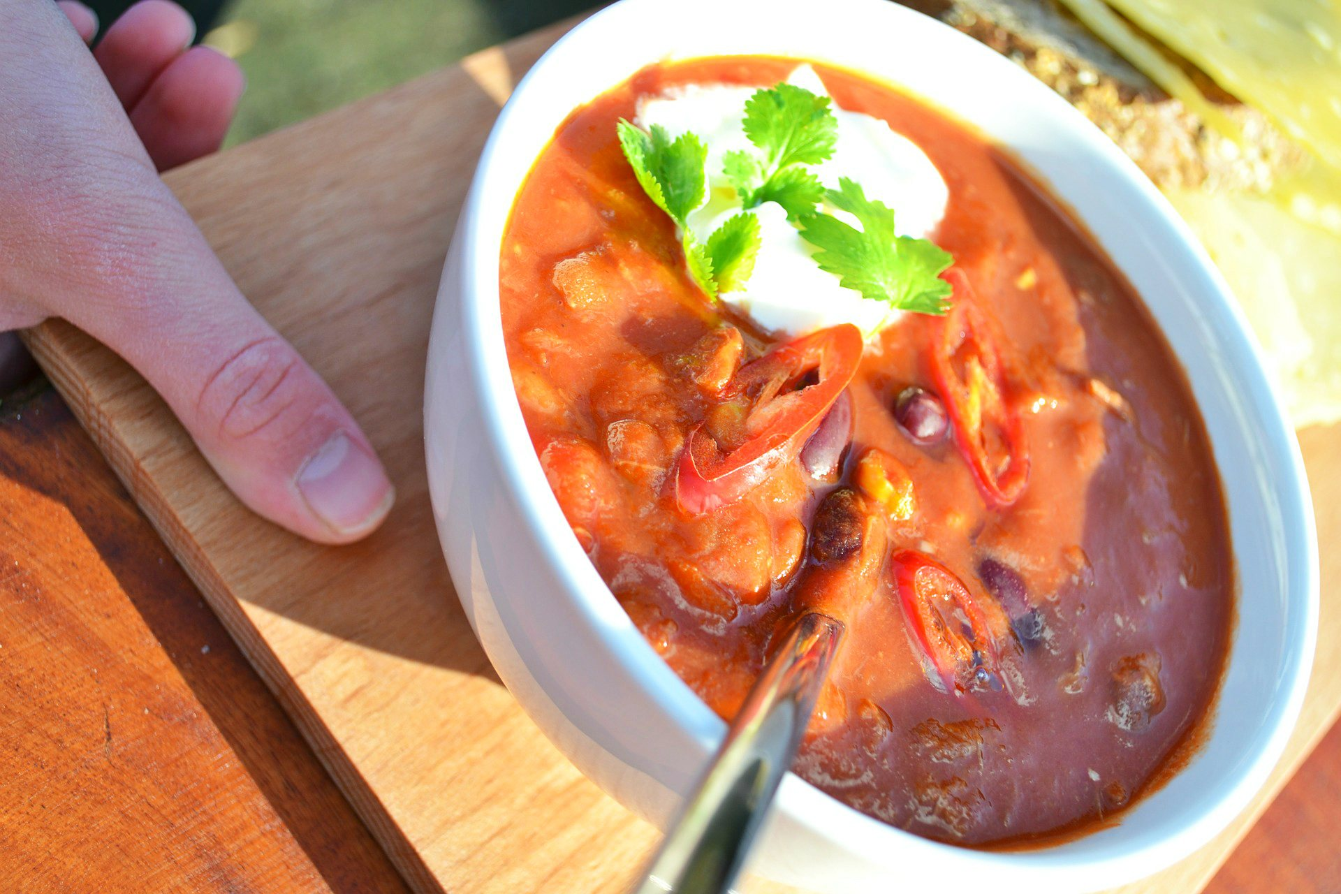 Sopa mexicana con albóndigas - receta