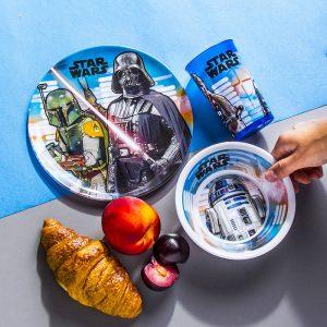Platos para niños Star Wars Disney